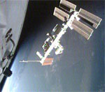 STS-122: ISS after undocking (NASA)