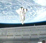 STS-130: docking at ISS (NASA)