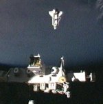 STS-132: undocking from ISS (NASA)