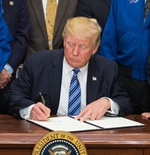 President Trump signs order for National Space Council (NASA)