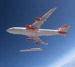 Virgin Orbit LauncherOne drop test (Virgin Orbit)